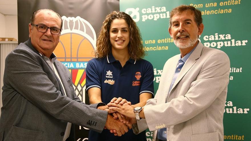 Caixa Popular amplía su apoyo al Valencia Basket