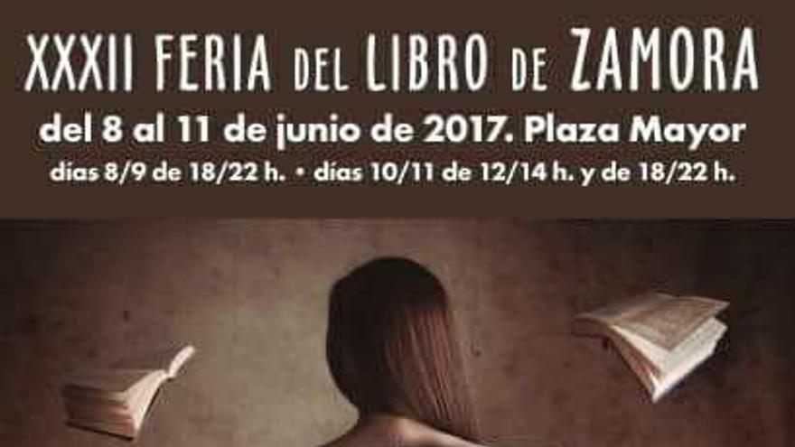 El cartel anunciador de la XXXII Feria del Libro de Zamora
