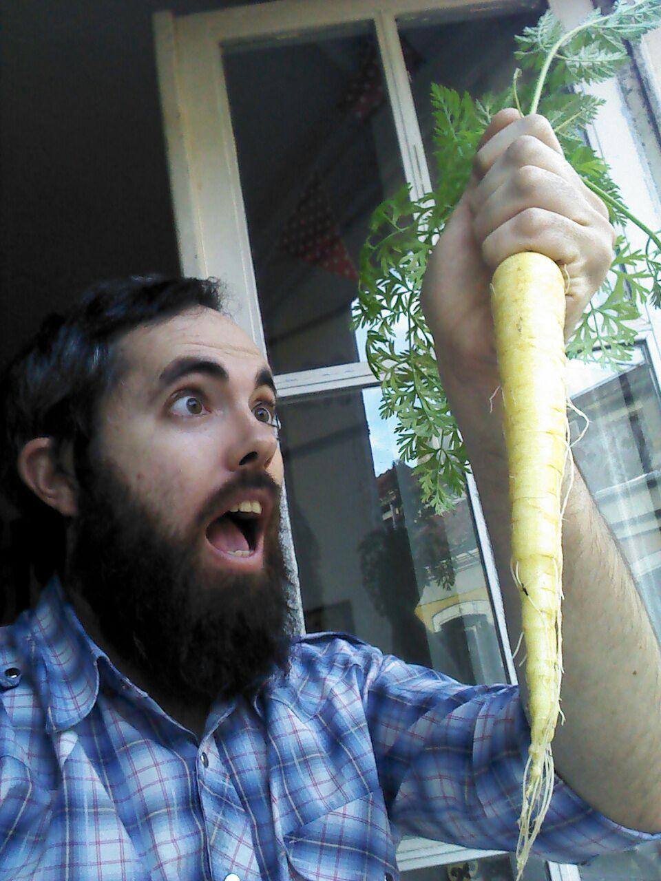 Zanahoria de balcón | SOMOS MALASAÑA