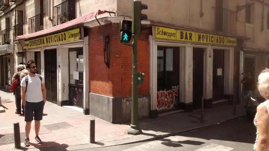 El bar Noviciado, ya cerrado este 1 de agosto   SOMOS MALASAÑA