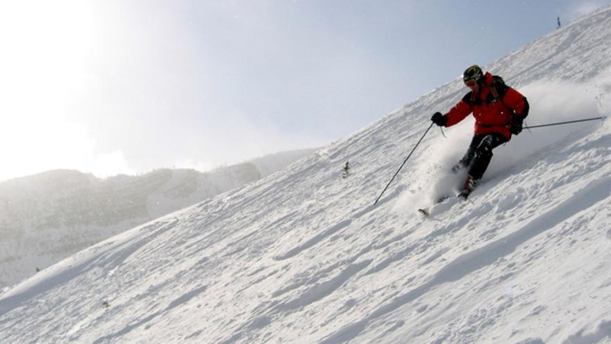Pulgar del esquiador II