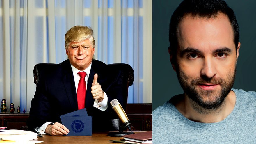 """Raúl Pérez dobla a Trump en """"El Show del Presidente"""" (Comedy Central)"""