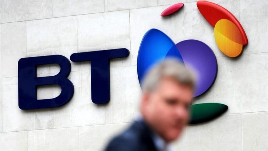 La operadora British Telecom aumentó un 14 % su beneficio en su año fiscal