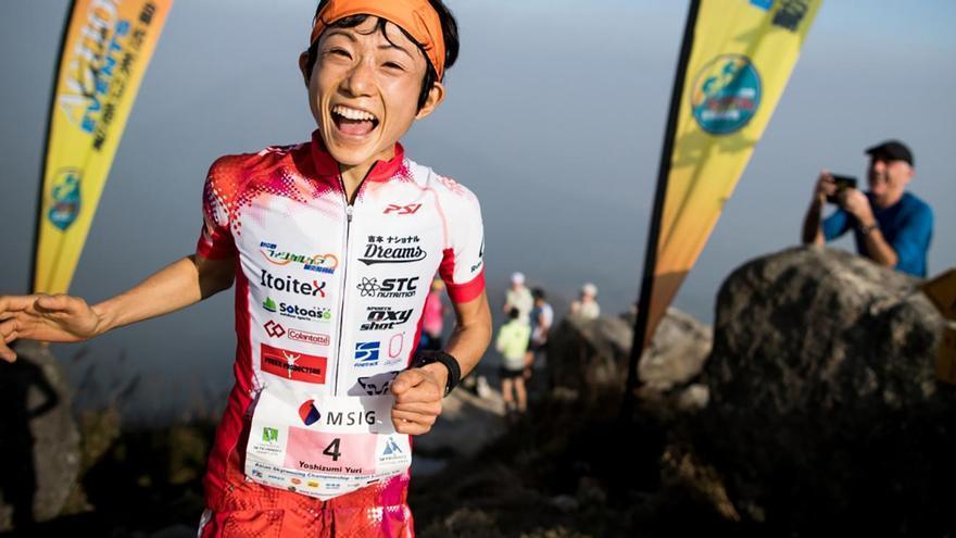 Yuri Yoshizumi.(Foto Transvulcania).