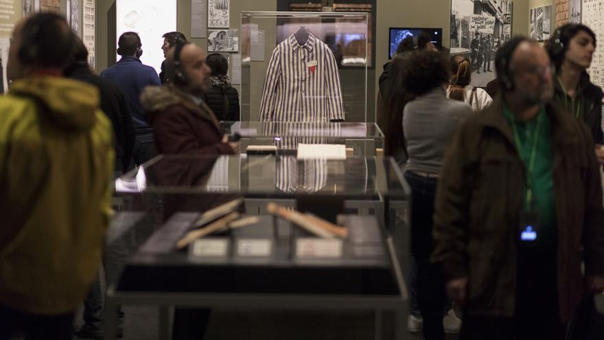 """Más de 250.000 personas han visitado ya la exposición """"Auschwitz. No hace mucho. No muy lejos"""""""
