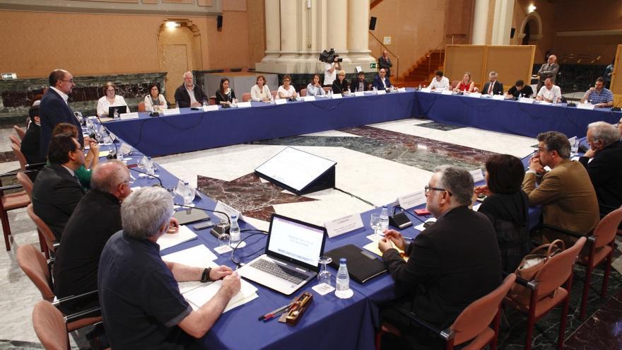 El pasado martes tuvo lugar la primera sesión consultiva del Observatorio de la Escuela Rural de Aragón