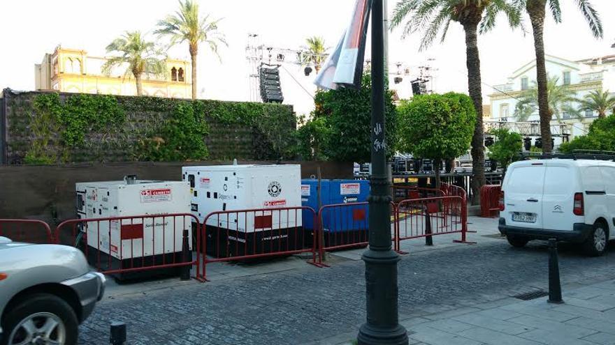 plaza España Mérida