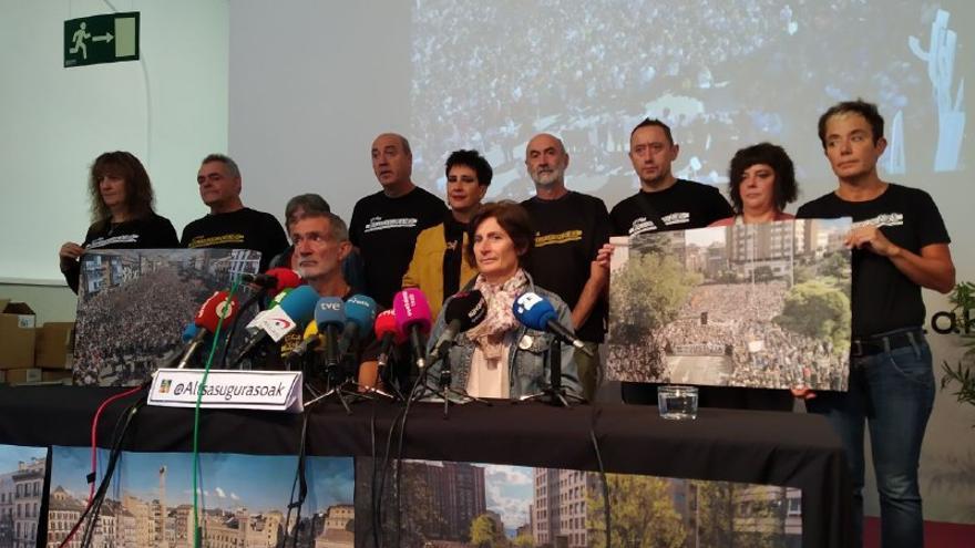 "Altsasu Gurasoak expresan su impotencia ante ""la injusticia"" del Caso Alsasua"