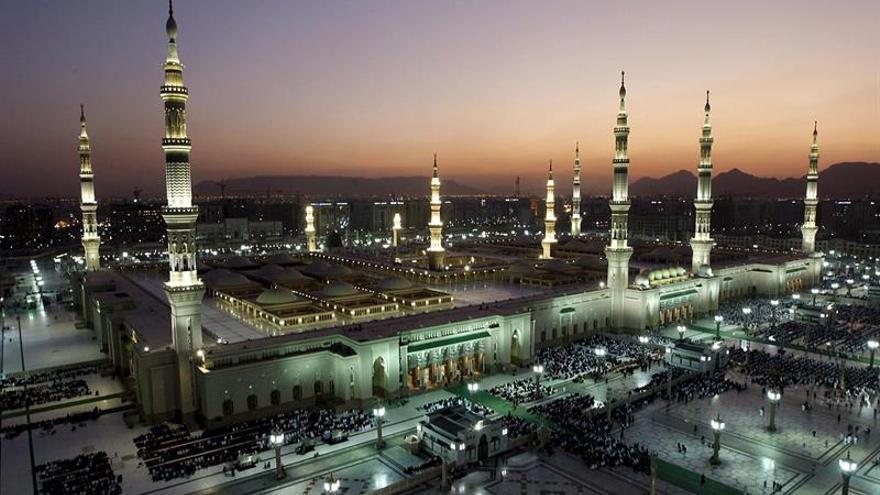 Imagen de archivo de la mezquita del Profeta Mahoma en Medina (Arabia Saudí). EFE/Archivo
