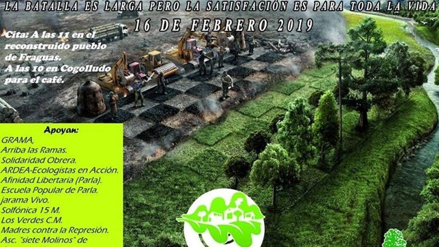 """Invitan a plantar árboles en Fraguas como apoyo """"implícito"""" a los repobladores condenados"""