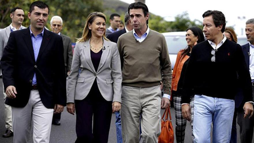 España recupera el futuro, según Cospedal