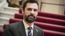 Roger Torrent, en el Parlament de Catalunya