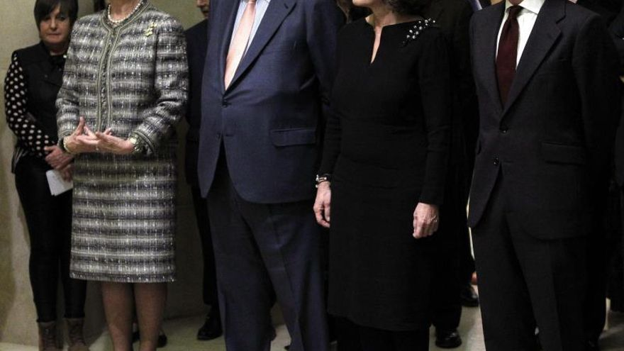 La Reina conmemora en el Real el estreno de la libertad parlamentaria en Madrid