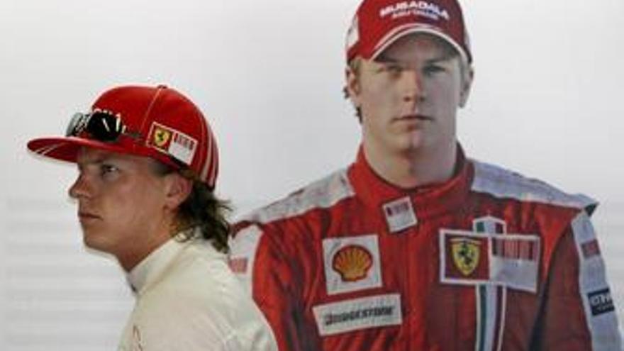 McLaren desmiente un acuerdo con Kimi Raikkonen