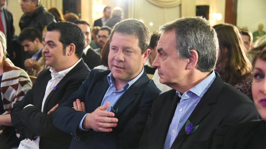 García-Page y Rodríguez Zapatero en Toledo