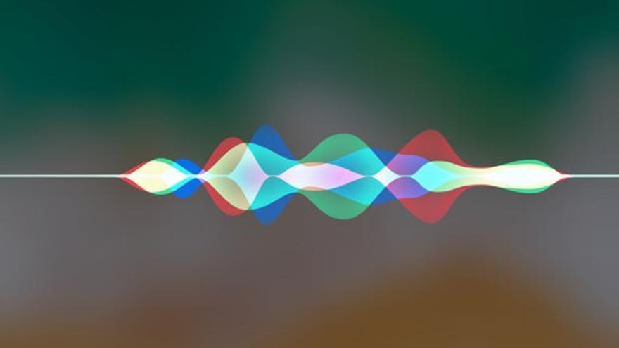 Imagen de la representación sonora de un asistente virtual registrando la voz de un usuario