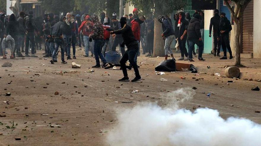 Los tunecinos tomaron las calles el pasado 3 de enero para protestar contra la situación en el país