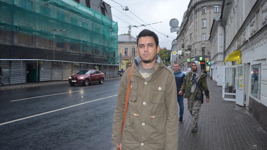 Artem Loskutov es un artista y activista ruso detenido por la policía. Ha sido investigado por una unidad especial anti-extremismo © Amnistía Internacional
