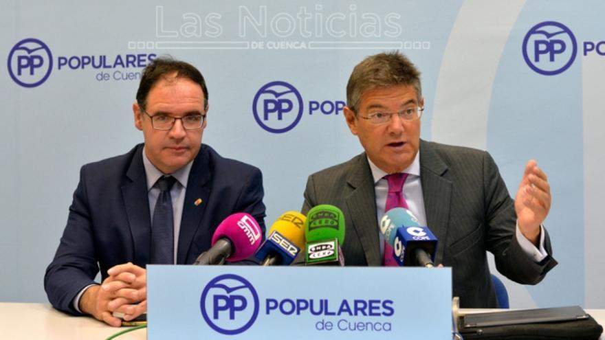 Benjamín Prieto y Rafael Catalá. Foto: Saúl García