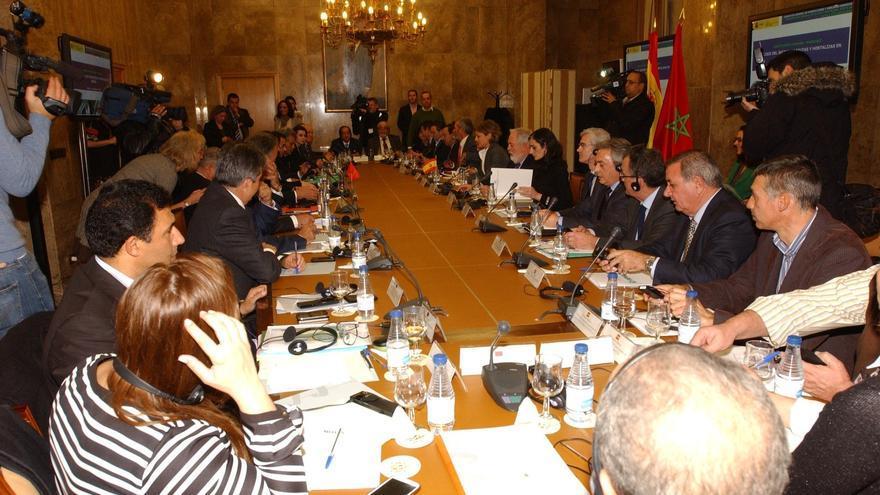 El comité hispano-marroquí formará grupos de trabajo para solucionar el problema de frutas