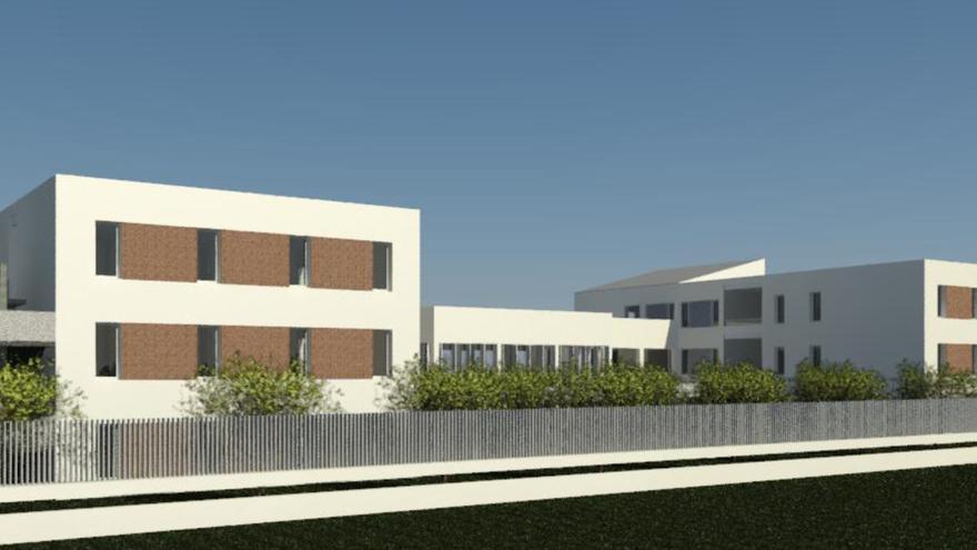 Imagen de la futura residencia de mayores dependientes en Sant Mateu.