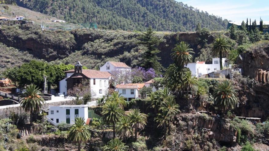 En la imagen de archivo, panorámica del entorno del Real Santuario de la Virgen de Las Nieves. Foto: Ayuntamiento de Santa Cruz de La Palma.