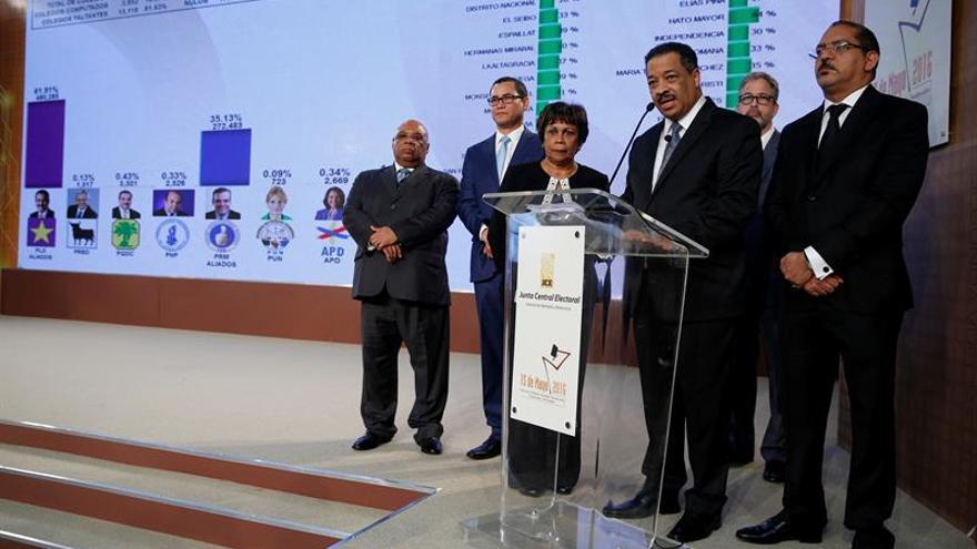 Nuevas cifras afianzan el triunfo del presidente dominicano en las elecciones