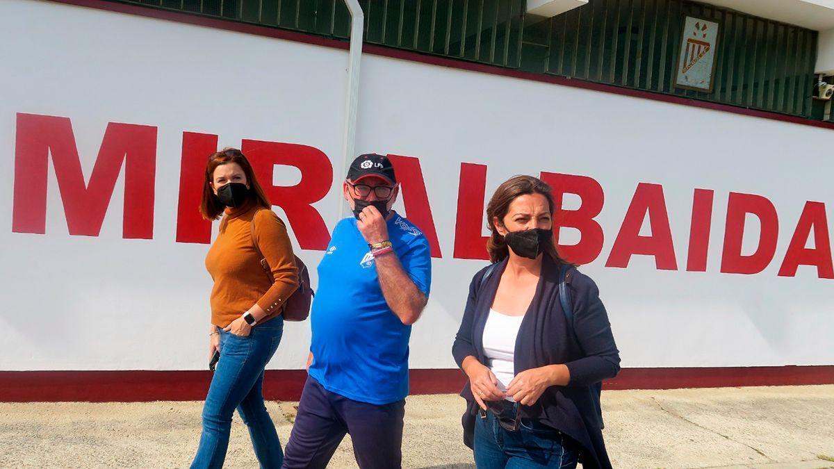Concejales del PSOE en Miralbaida.