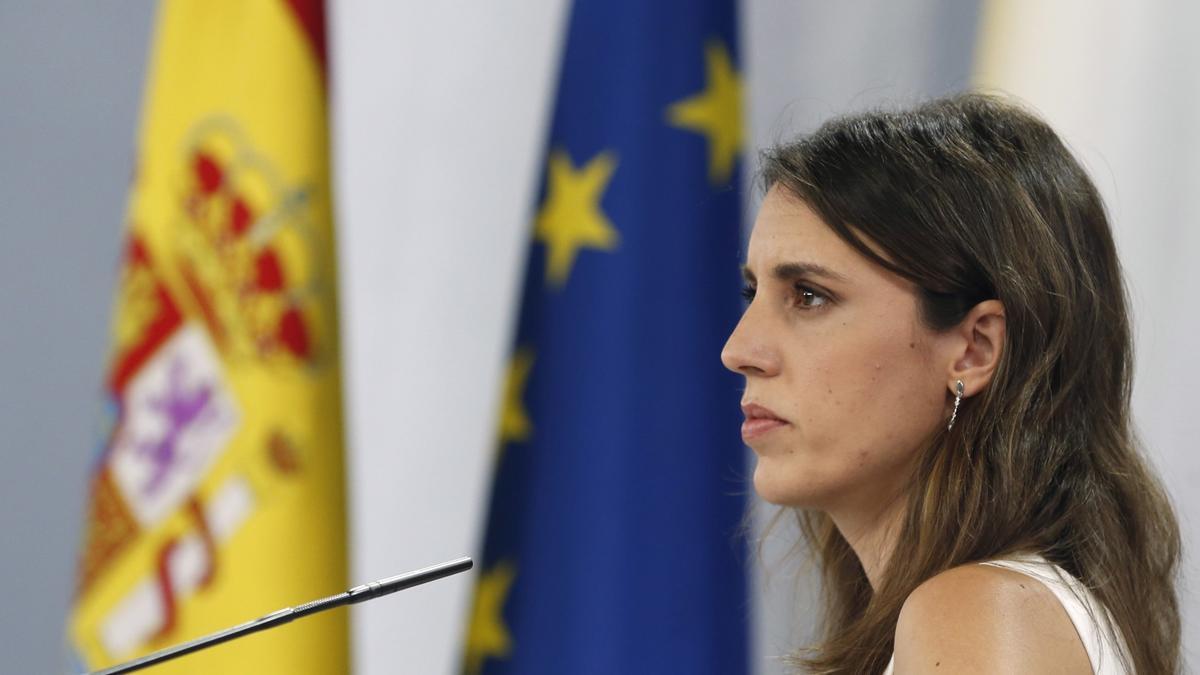 La ministra de Igualdad, Irene Montero. EFE/ Javier Lizón/Archivo