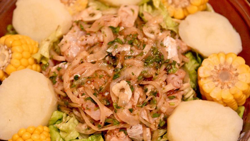 Ceviche de pescado, uno de los platos estrella de la gastronomía peruana. VIAJAR AHORA