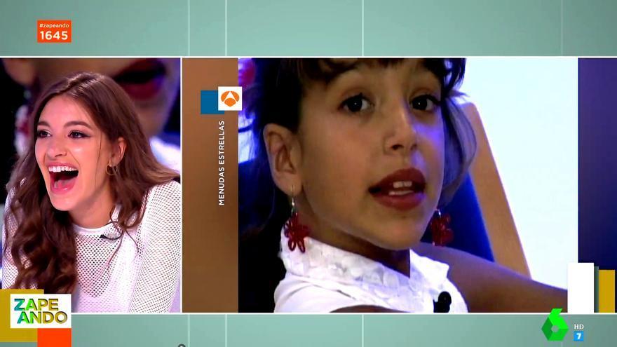 """Ana Guerra explicó en 'Zapeando' el """"shock"""" que le provocó 'OT 2017' y recordó su pasado en 'Menudas estrellas'"""