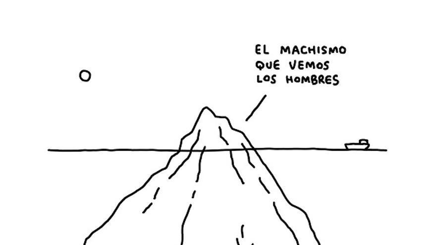 'El iceberg del machismo', de Javirroyo.