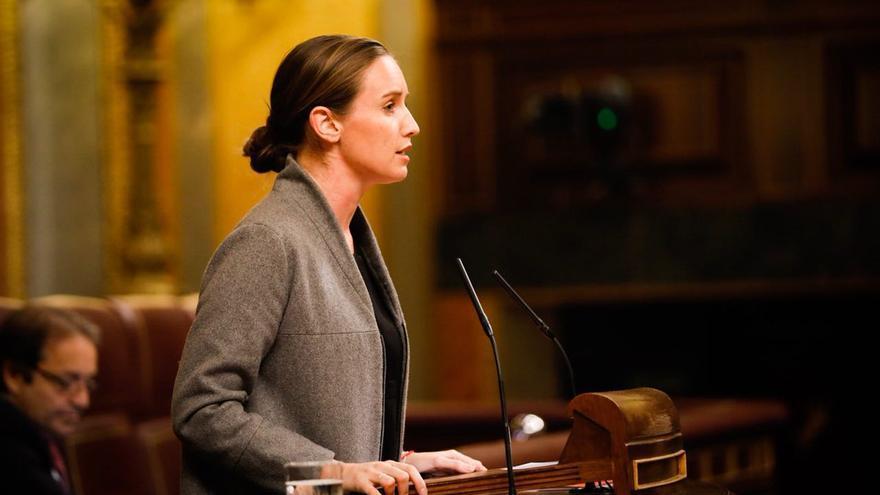 La diputada de Ciudadanos en el Congreso, Melisa Rodríguez.