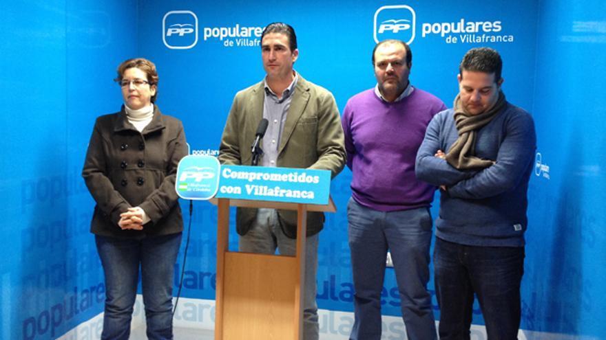 Grupo municipal del PP de Villafranca.