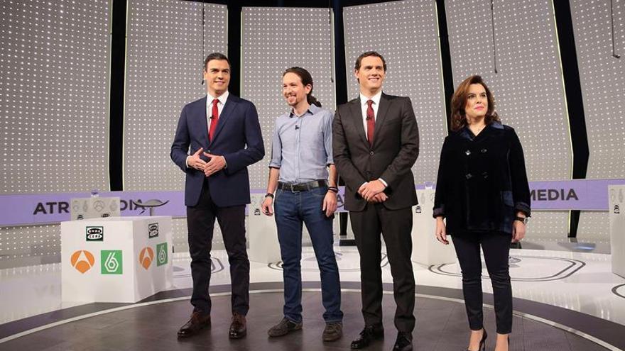 El debate electoral 'a cuatro' se celebrará el 13 de junio