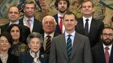 Felipe VI recibe a la Fundación Rafael del Pino
