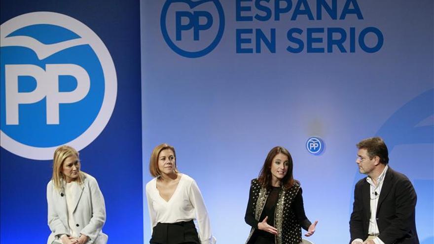 Cospedal: El PP no va de ambiguo para ver si capta votos de unos o de otros