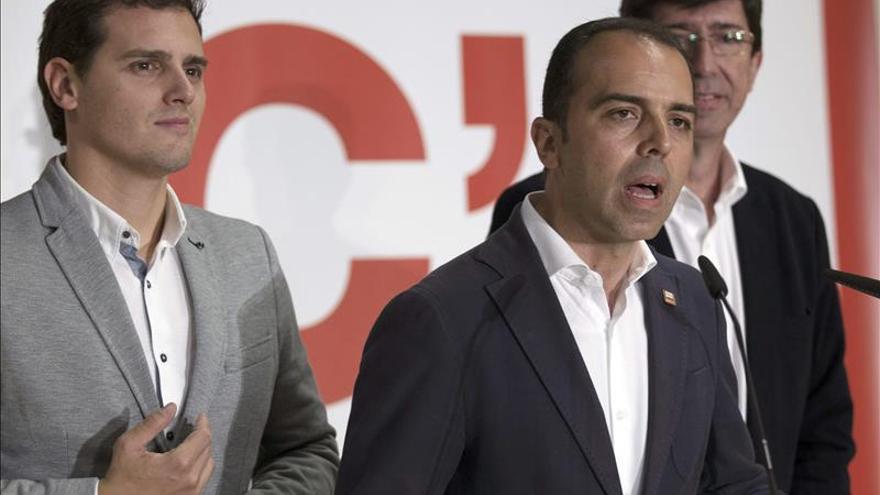 """Ciudadanos advierte a Díaz de que se equivoca con la """"amenaza"""" de nuevas elecciones"""