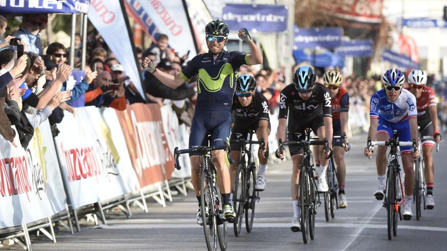Valverde en la Vuelta a Andalucía