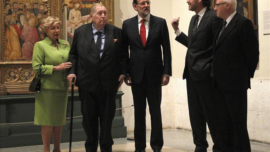 Rajoy ve el Prado como ejemplo de que la nación no se reduce a lo castellano