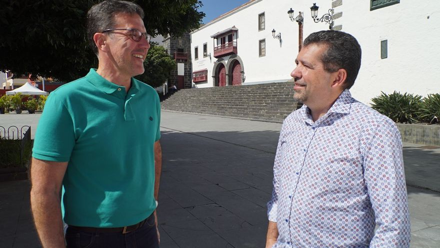 Suso Nuño y Juanjo Cabrera.