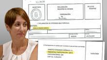 La alcaldesa de Mogán dimite como administradora única de su empresa y nombra ahora a su padre
