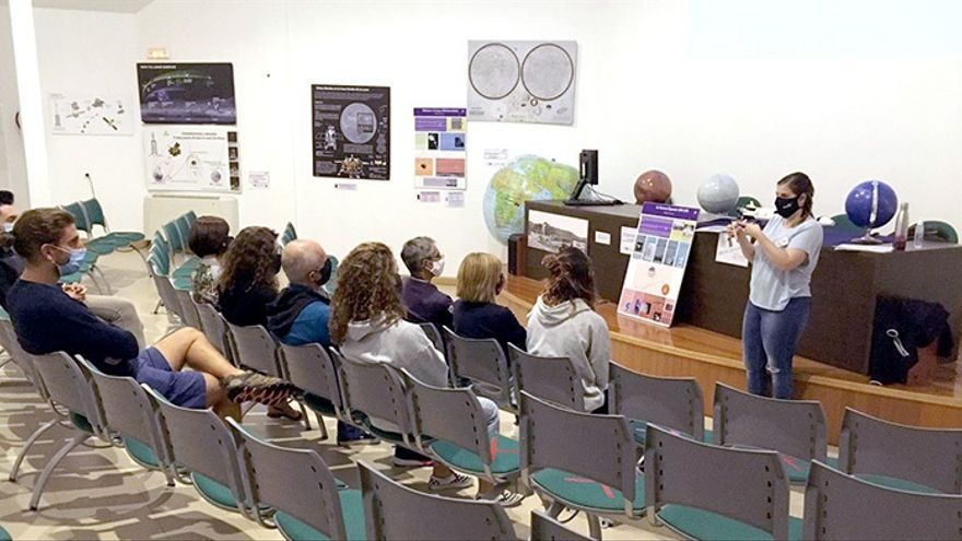 Actividad en el Observatorio Astronómico de Cantabria.