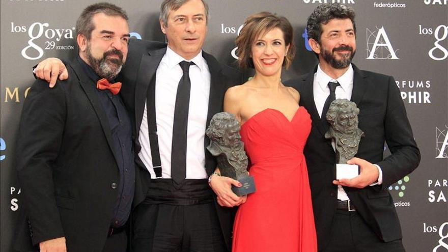 El cine español también recupera su audiencia en la televisión