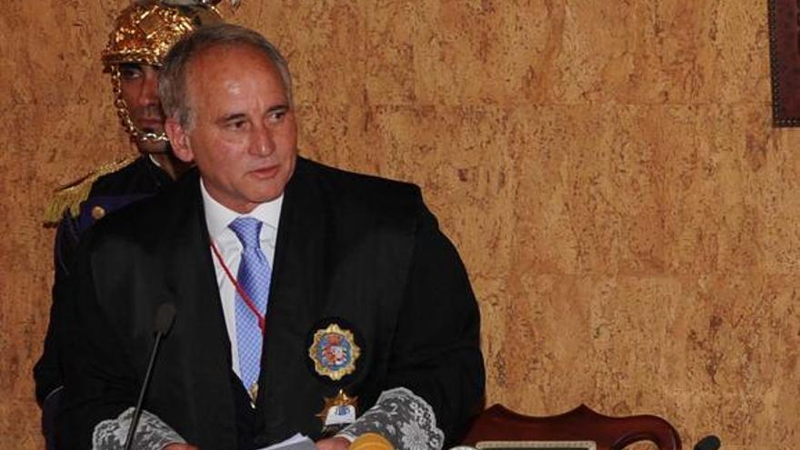 El presidente del Consejo Consultivo de Canarias, Carlos Millán