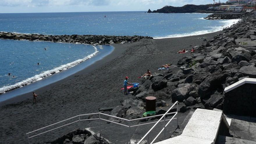 Imagen de archivo de la playa de Bajamar, en Breña Alta.