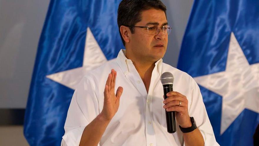 Hernández agradece a España el reconocimiento de las elecciones de Honduras