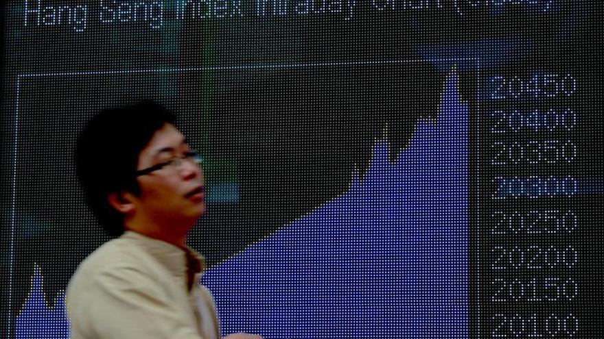 El Hang Seng baja un 0,15 por ciento en la apertura de la sesión