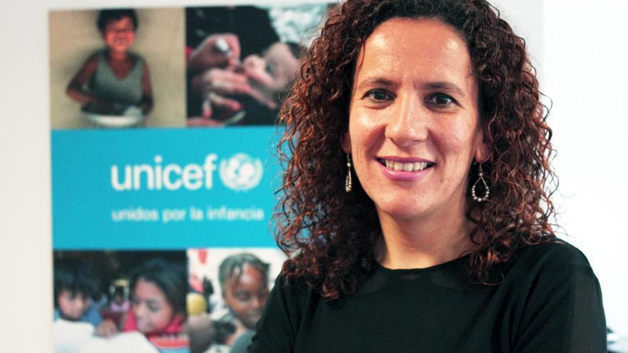 Marta Arias, directora de Sensibilidad y Políticas de Infancia de Unicef. / Unicef.