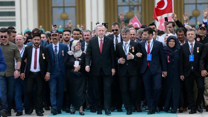 Turquía conmemora el tercer aniversario del fallido golpe militar de 2016